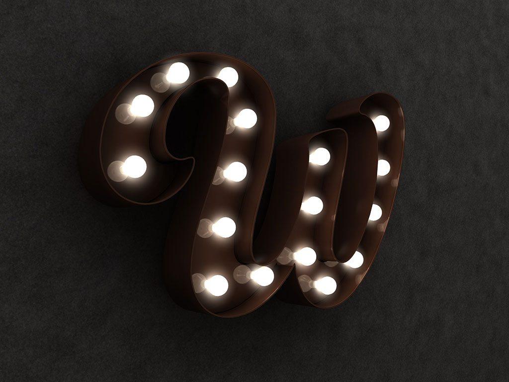 Leuchtbuchstaben Sonderbau