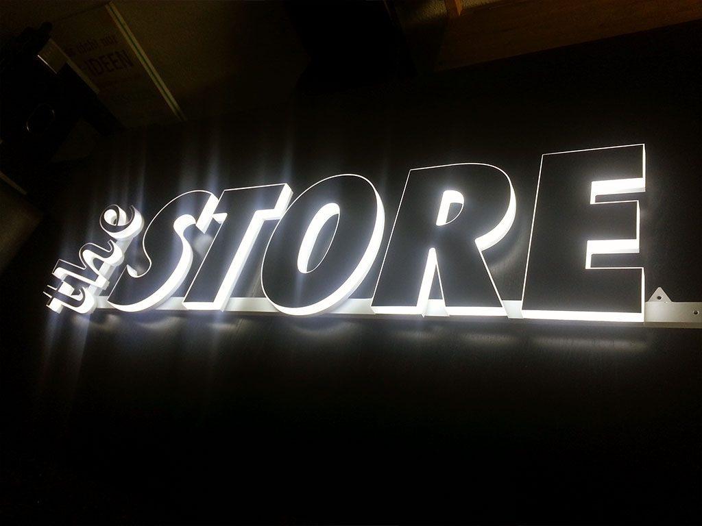 Slim Line LED Leuchtbuchstaben